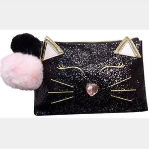 Handbags - Betsey Johnson T Bottom Long Cosmo Cosmetic Bag